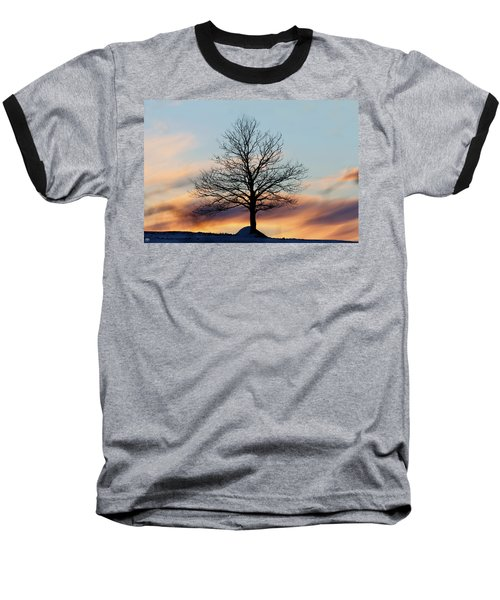 Liberty Tree Sunset Baseball T-Shirt