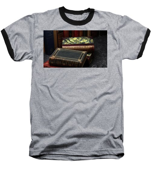 Library Baseball T-Shirt