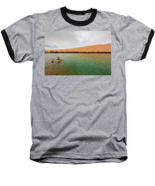 Libyan Oasis Baseball T-Shirt
