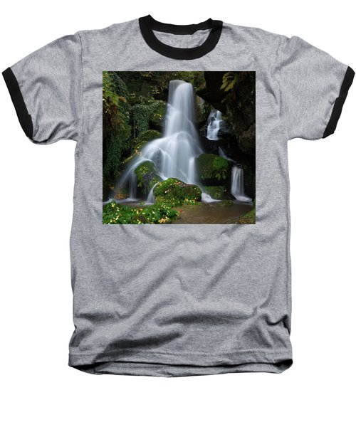 Lichtenhain Waterfall Baseball T-Shirt