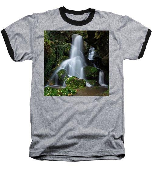 Lichtenhain Waterfall Baseball T-Shirt