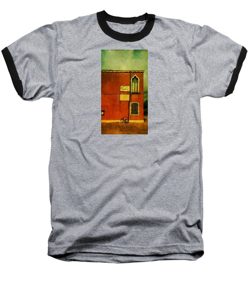 Baseball T-Shirt featuring the photograph Lido Lion by Anne Kotan