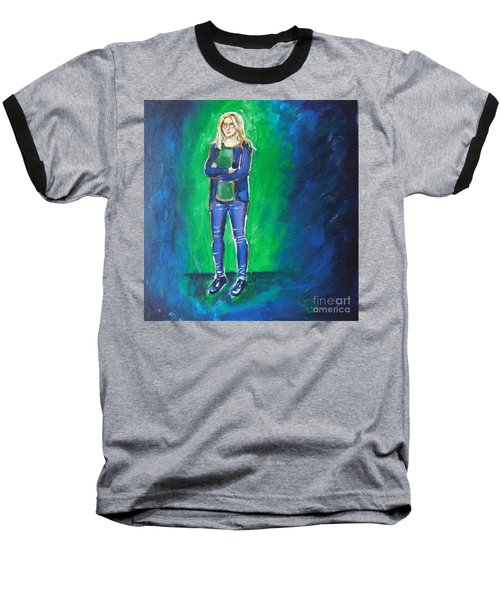 Liesbeth- Painting Class Model Baseball T-Shirt