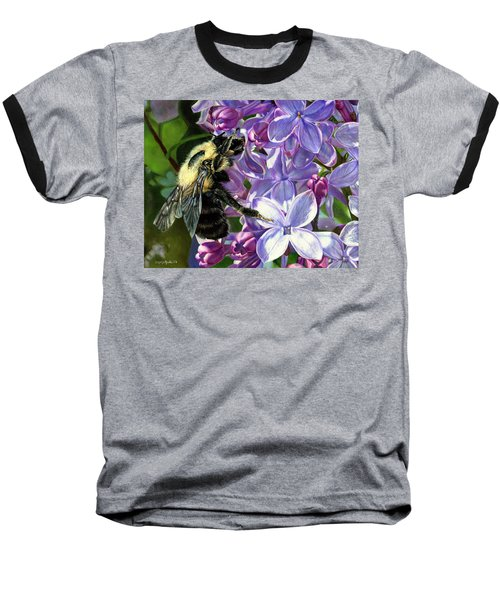 Life Among The Lilacs Baseball T-Shirt
