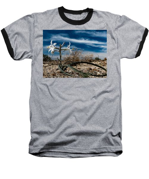 Life Amoung The Weeds Baseball T-Shirt by Jeremy McKay
