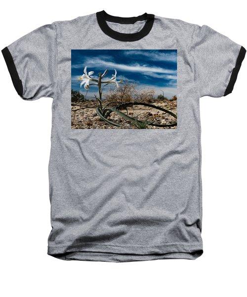 Life Amoung The Weeds Baseball T-Shirt