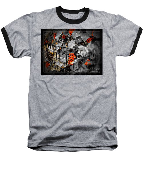Life Behind The Wire Baseball T-Shirt