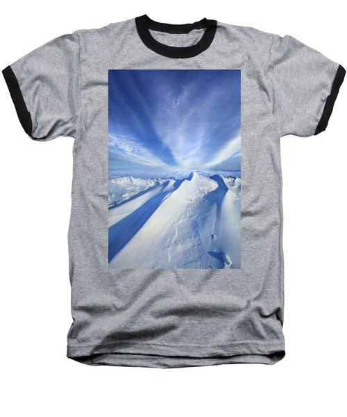 Baseball T-Shirt featuring the photograph Life Below Zero by Phil Koch