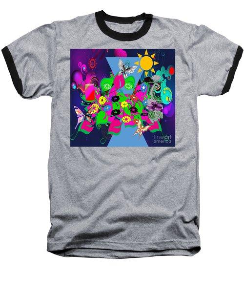Life Full Of Experiences Baseball T-Shirt by Belinda Threeths