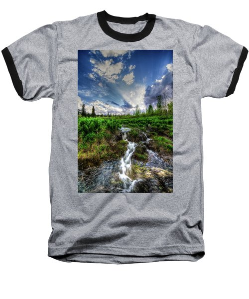 Life Giving Stream Baseball T-Shirt