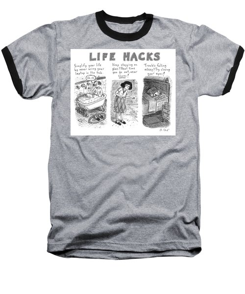 Life Hacks Baseball T-Shirt