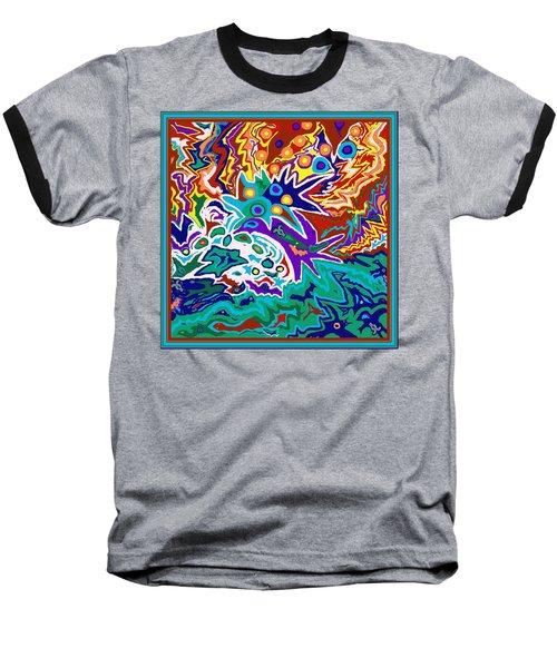 Life Ignition Option 2 With Borders Baseball T-Shirt