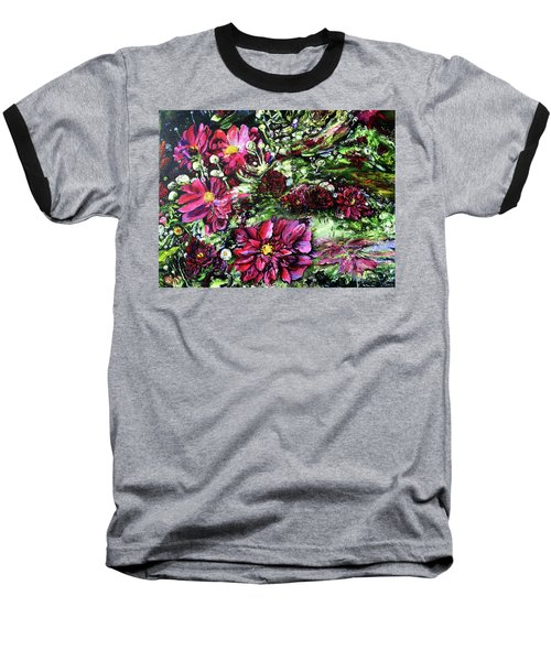 Life In A Bloom Field Baseball T-Shirt