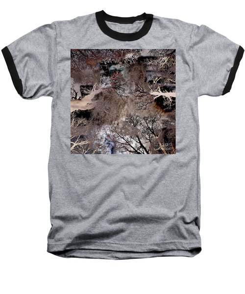 Life In A Bush Of Ghosts Baseball T-Shirt