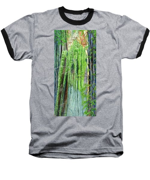 Life In A Redwood Forest Baseball T-Shirt