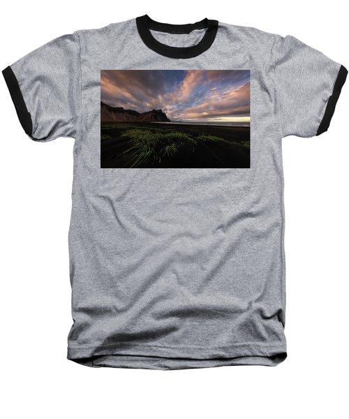 Life In Black And Green Baseball T-Shirt
