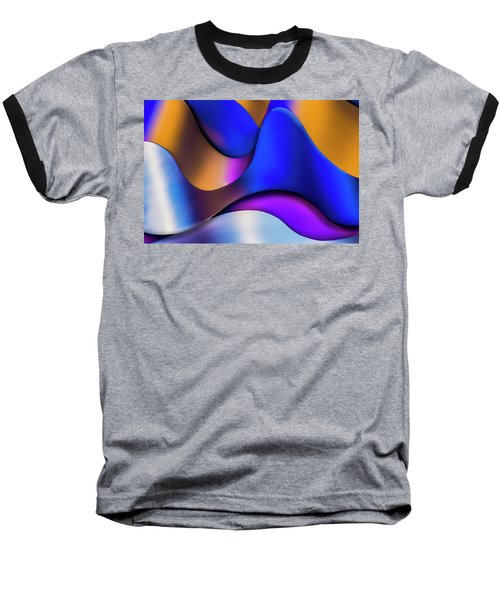 Life In Color Baseball T-Shirt by Paul Wear