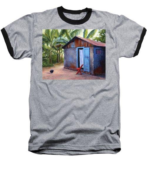 Life In Haiti Baseball T-Shirt by Janet King