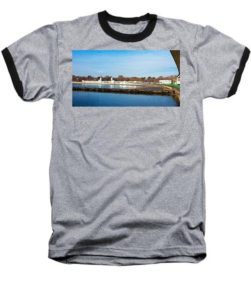 Life In Rye Baseball T-Shirt by Jose Rojas