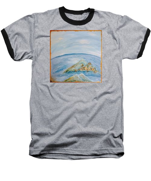 Life In The Middle Of The Ocean Baseball T-Shirt