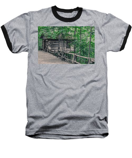 Baseball T-Shirt featuring the photograph Life In The Ozarks by Annette Hugen