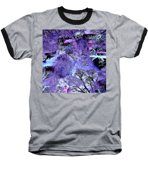 Life In The Ultra Violet Bush Of Ghosts  Baseball T-Shirt