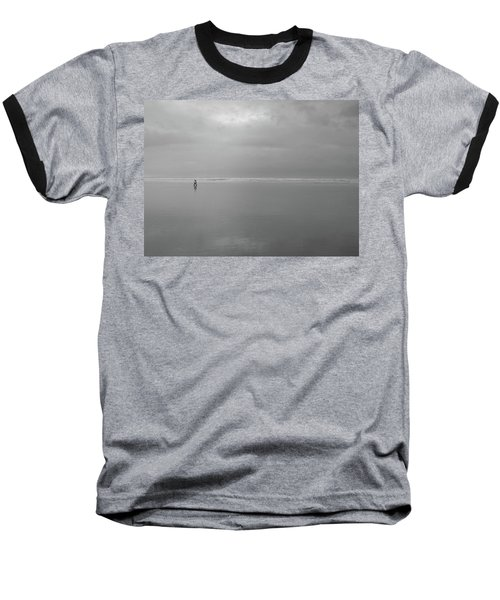 Baseball T-Shirt featuring the photograph Life Is A Beach by Suzy Piatt
