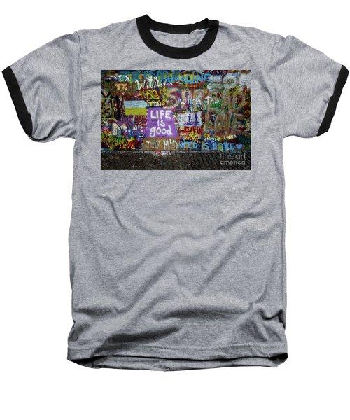 Life Is Good Baseball T-Shirt