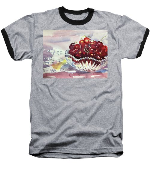 Life Is Just A Bowl Of Cherries Baseball T-Shirt