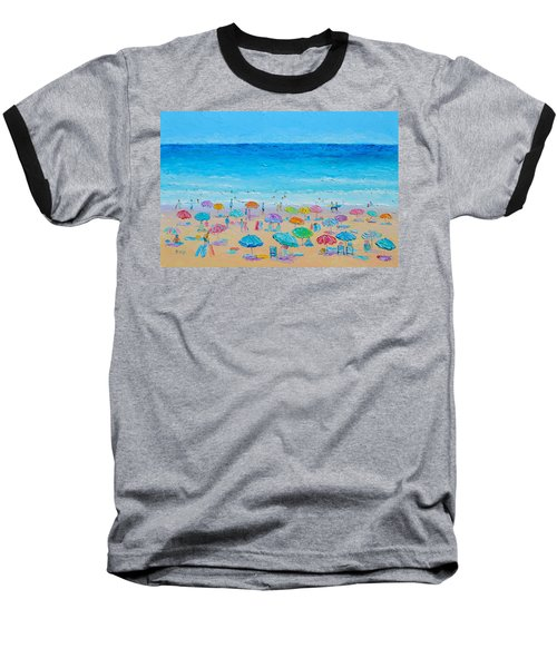 Life On The Beach Baseball T-Shirt