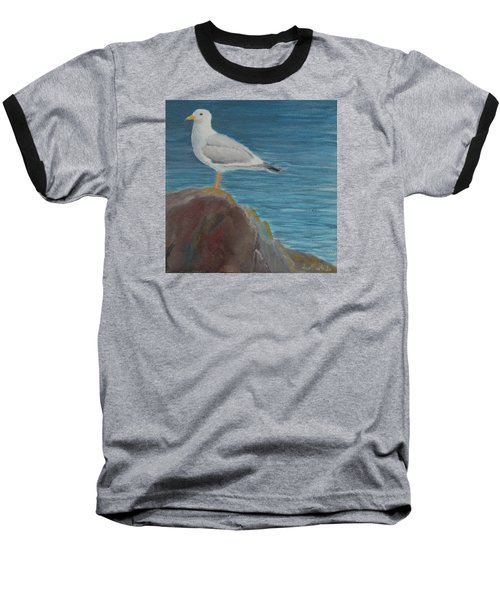 Life On The Rocks Baseball T-Shirt