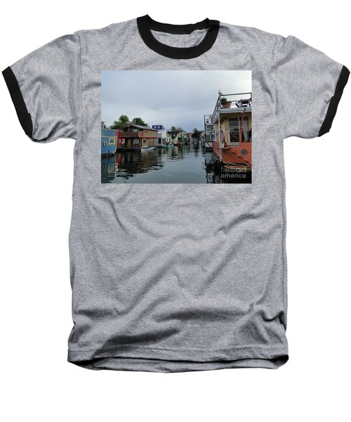 Life On The Water Baseball T-Shirt by Cindy Croal