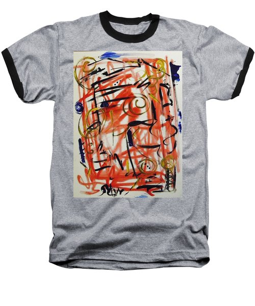Life Should Be Filled With Spontaneity Baseball T-Shirt by Mary Carol Williams