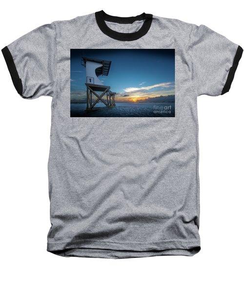 Baseball T-Shirt featuring the photograph Lifeguard by Brian Jones