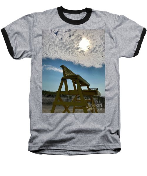 Lifeguard Chair Baseball T-Shirt