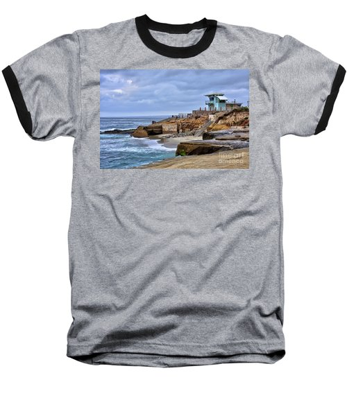 Lifeguard Station At Children's Pool Baseball T-Shirt