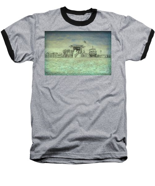 Lifeguard Tower 2 Baseball T-Shirt