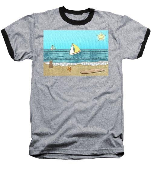 Life's A Beach Baseball T-Shirt