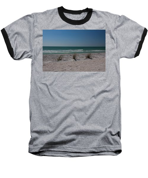 Baseball T-Shirt featuring the photograph Life's A Beach by Michiale Schneider