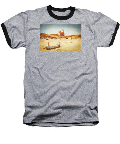 Lifes Journey Baseball T-Shirt by Karol Livote