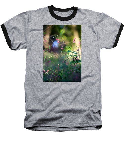 Life's Journey Baseball T-Shirt by Tracy Male