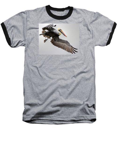 Lift Off Baseball T-Shirt by Charlotte Schafer