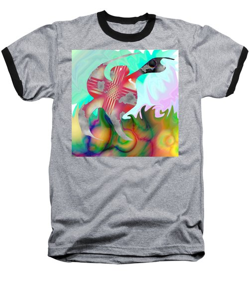 Lifting The Color Baseball T-Shirt