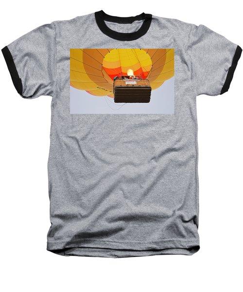 Baseball T-Shirt featuring the photograph Liftoff by AJ Schibig