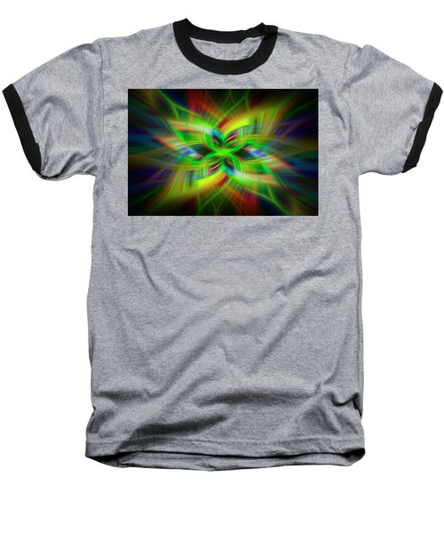 Light Abstract 1 Baseball T-Shirt