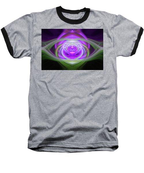 Light Abstract 3 Baseball T-Shirt