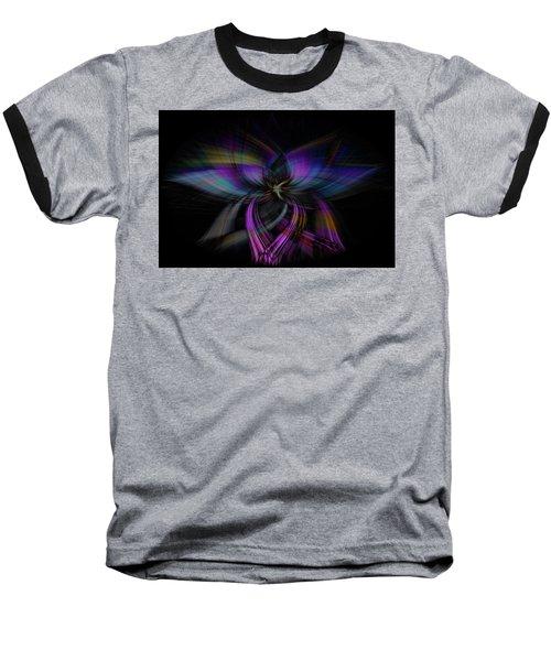 Light Abstract 4 Baseball T-Shirt