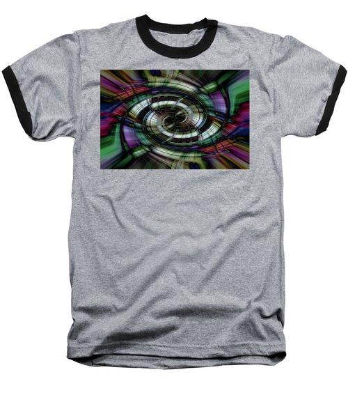 Light Abstract 6 Baseball T-Shirt