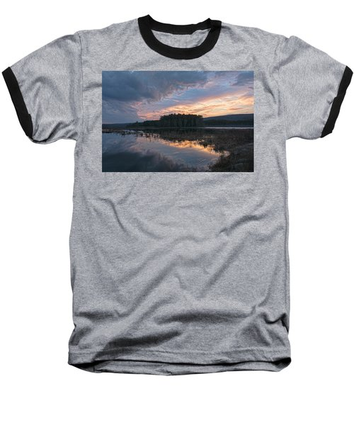 Light And Dark Baseball T-Shirt