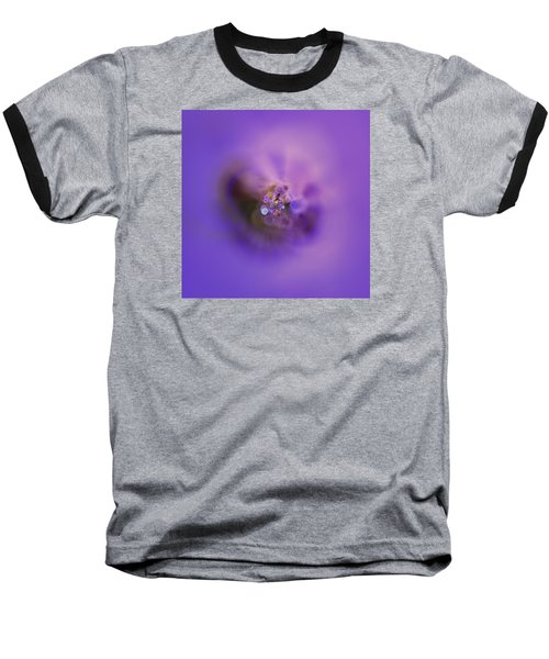 Baseball T-Shirt featuring the digital art Light And Sound Abstract by Robert Thalmeier